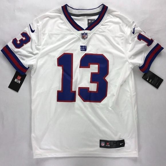 online retailer 284de 79bc8 Nike NFL New York Giants Odell Beckham JR Jersey NWT